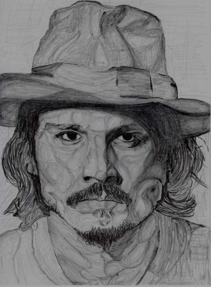 Johnny Depp by tksmrymds